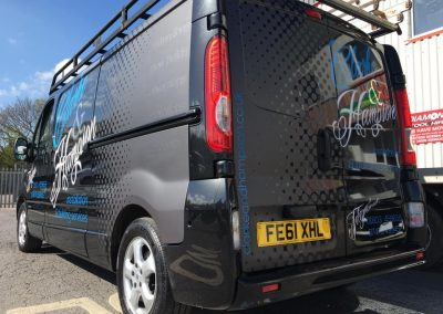 Clark and Hampson Vinyl Vehicle Wrap